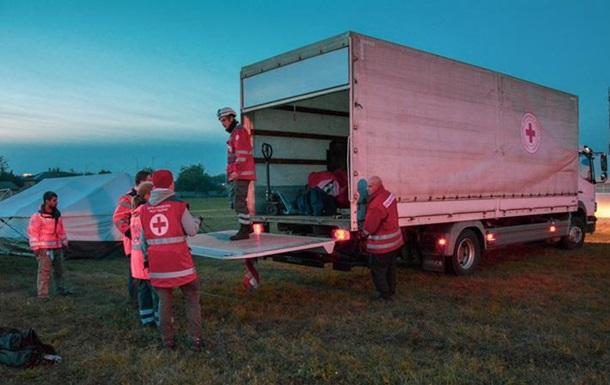 Взрывы в Ичне: в четырех населенных пунктах работает Красный Крест