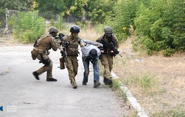 СБУ провела специальные учения на Луганщине
